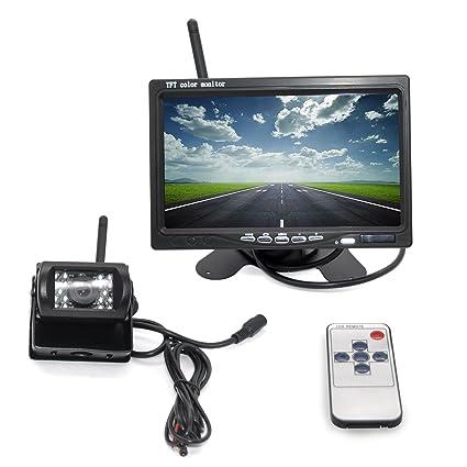 Amazon com: CTGT Wireless Backup Camera and 7