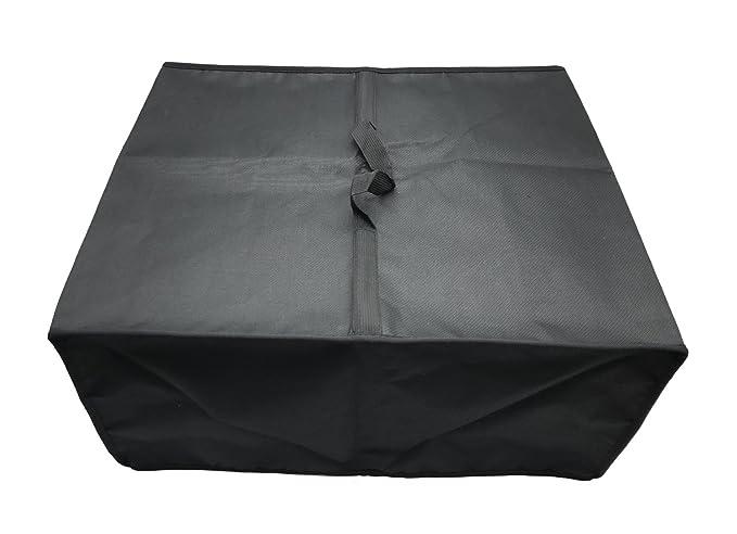 Wommty Antiestático Funda de Cubierta de Polvo de Impresora de Nailon Resistente al Agua a Prueba de Protector para HP OfficeJet 3833/3831/Pro ...