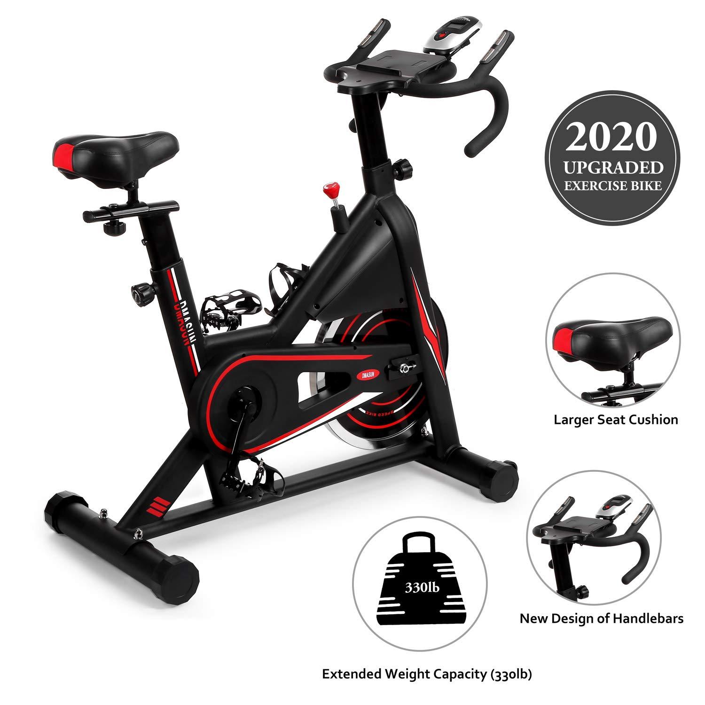 DMASUN - Bicicleta estática para interiores y bicicletas, cojín ...