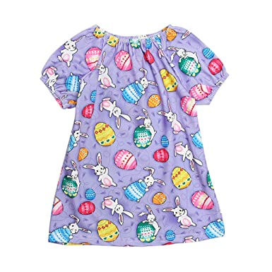 Summer Newborn Baby Girls Easter Bunny Party Pageant Tulle Dress Romper Sundress