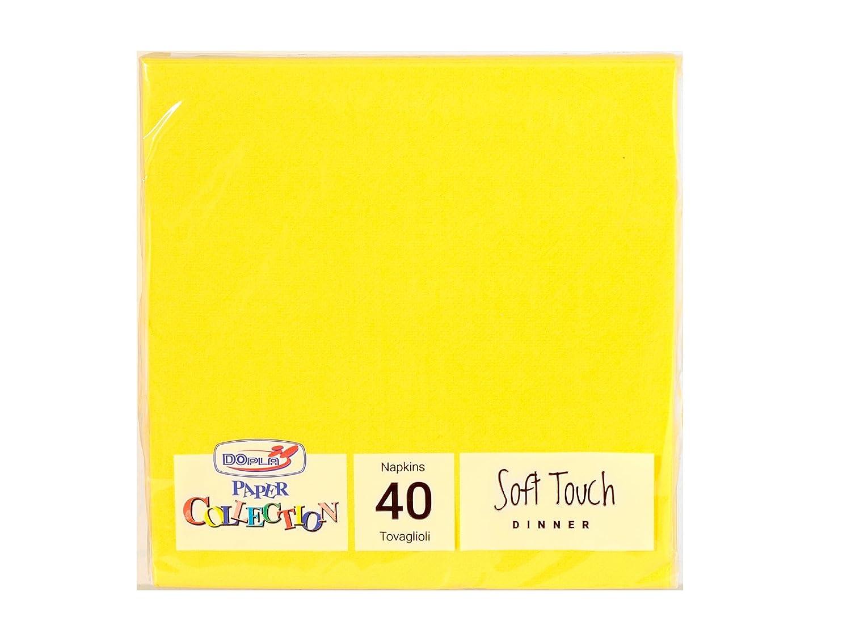 DOPLA 9323 Soft Tovaglioli, Carta, Giallo