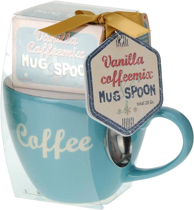 Vanilla coffeemix - Taza de & Spoon Set de regalo 3 tlg. - Juego ...