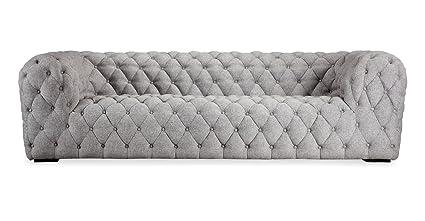 Amazon.com: Kardiel Cumulus Mid-Century Modern Tufted Sofa, Urban ...