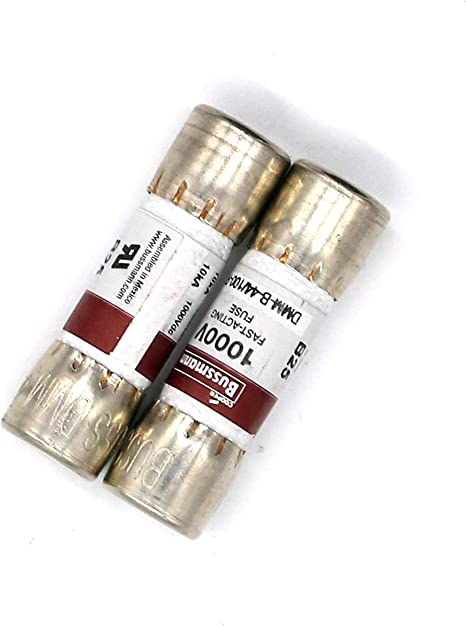 Bussmann Dmm B 44 100 R 440 Ma 0 44 A 1000 V Digitales Multimeter Ersatz Sicherung 10 X 38 Mm 2 Stück Baumarkt