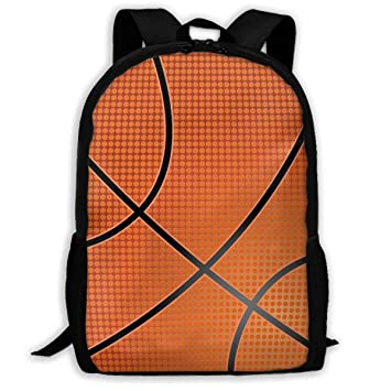 d0a64d4f530 Image Unavailable. Image not available for. Color  YRAI Basketball 3D  Pattern School Bags Cool Backpacks ...