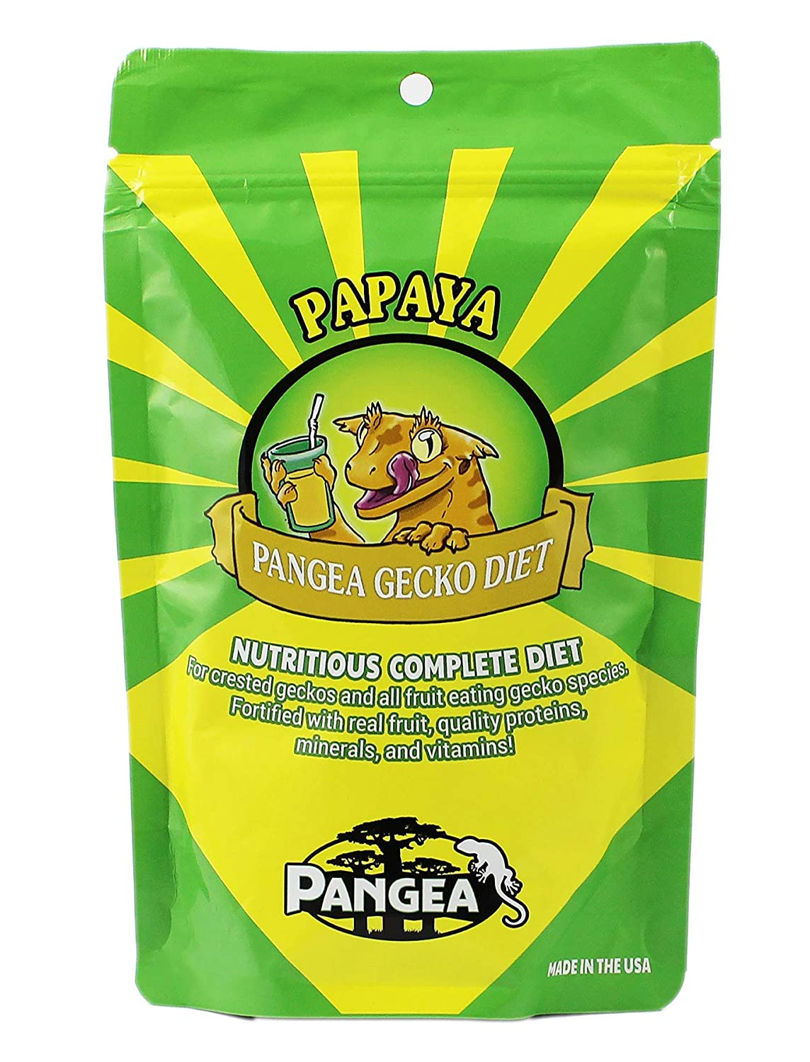 Banana/Papaya Pangea Fruit Mix Complete Crested Gecko Food 1 lb