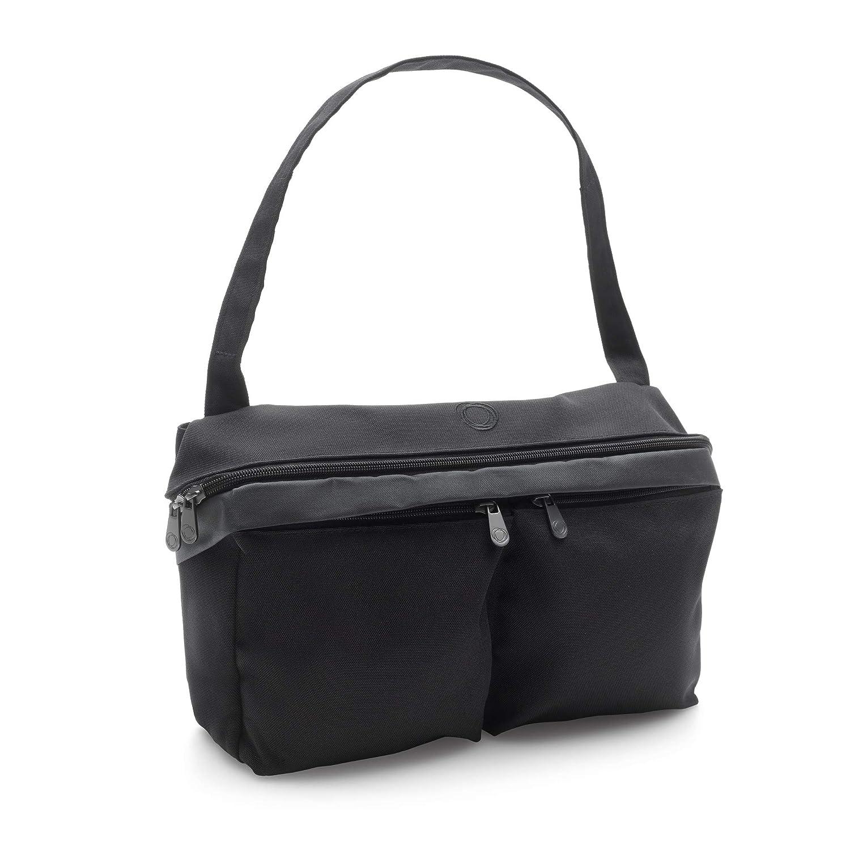 Bugaboo Universal Pushchair Organiser Bag Blue Melange Attaches to Handlebar