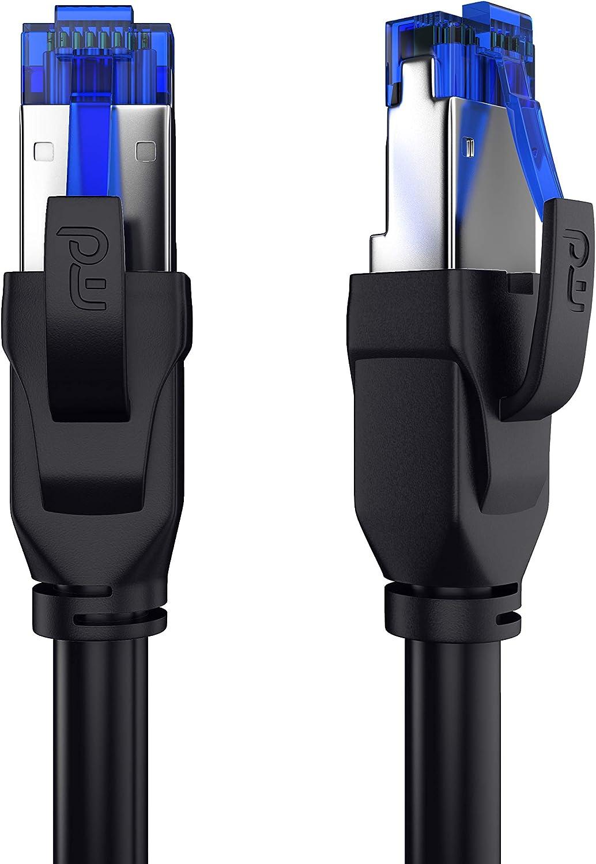 Csl 10m Cat 8 Netzwerkkabel 40 Gbits Lan Kabel Elektronik