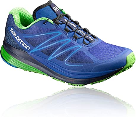 Salomon L39068900, Zapatillas de Trail Running para Hombre, Azul ...