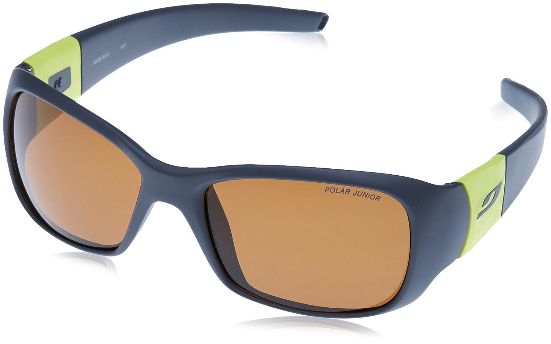 Julbo Piccolo Sonnenbrille, polarisiert Unisex Kinder, Dunkelgrau/Gelb Grün Dunkelgrau/Gelb Grün JULB6|#Julbo J4309221