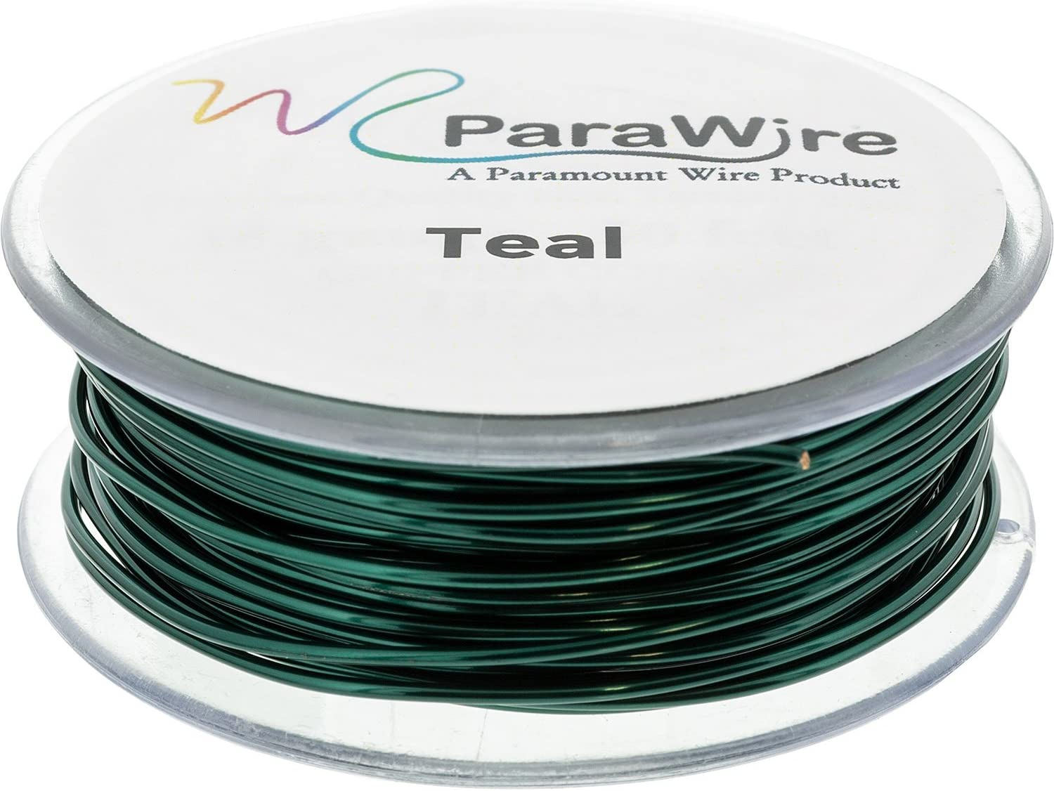Parawire 20ga Natural Enameled 75/' Roll Copper Craft Wire