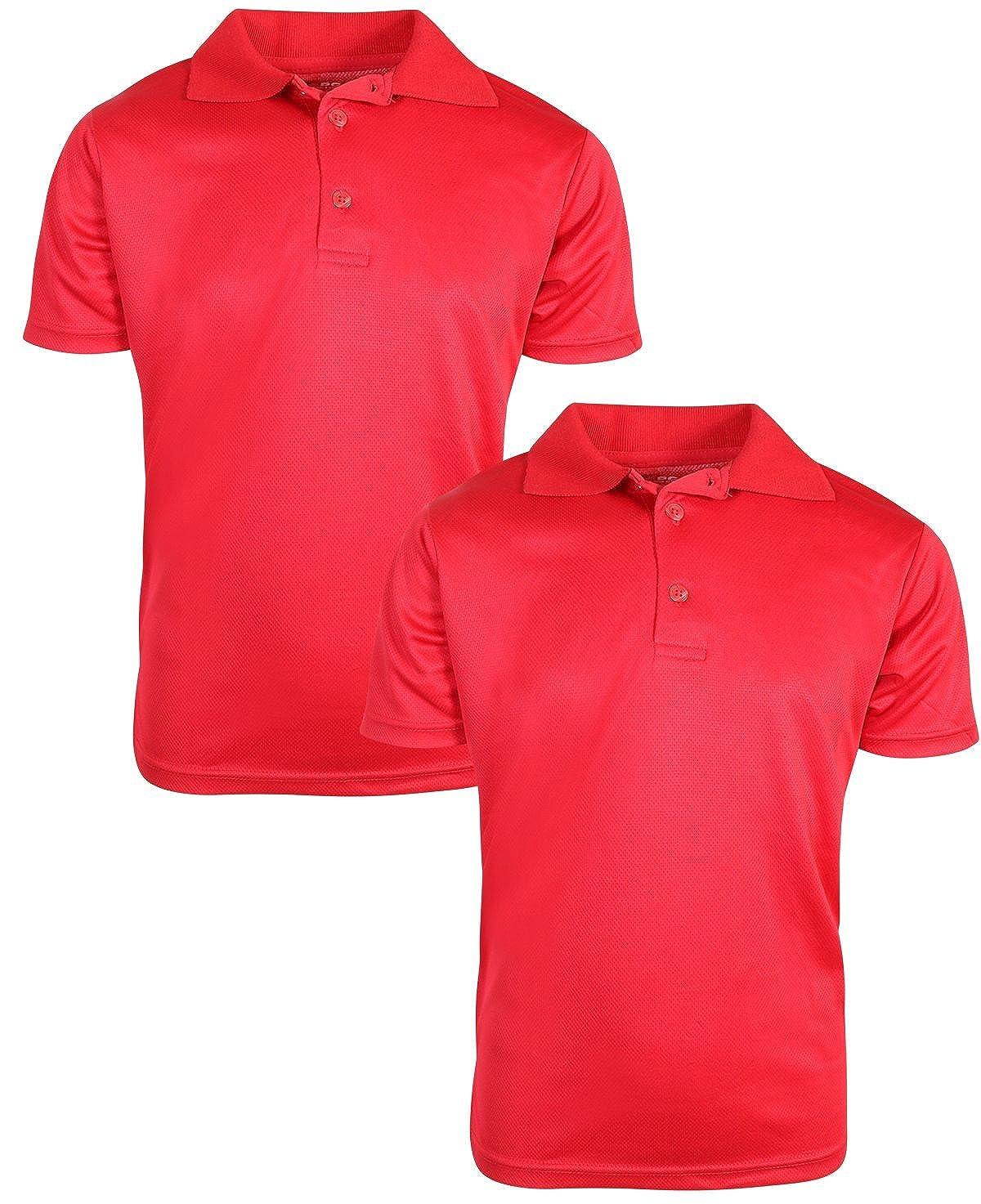 BHS Blue Boys school uniform shirt 2 x pack shirts NEW diff sizes