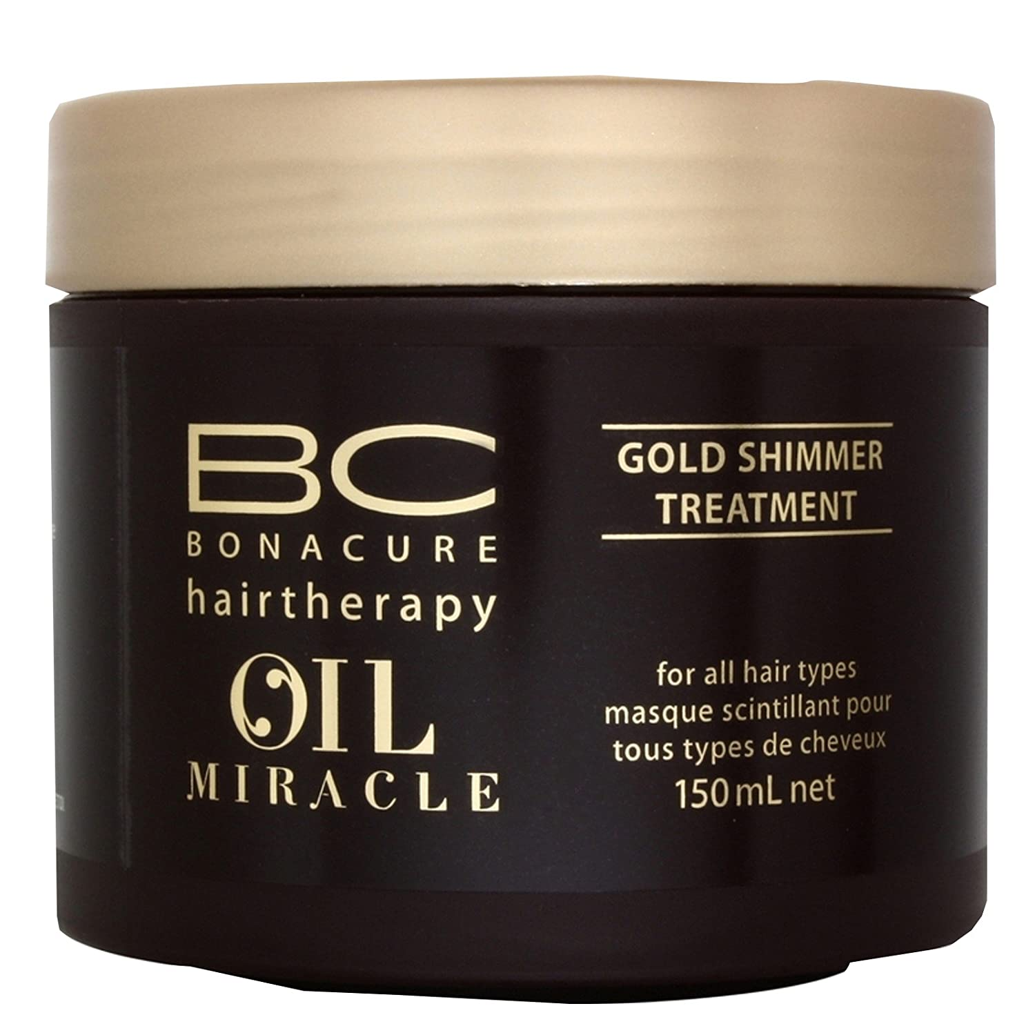 Schwarzkopf Professional - Masque Scintillant pour Cheveux - BC Bonacure Oil Miracle - 150ml 1913876 4045787177510_Blanco