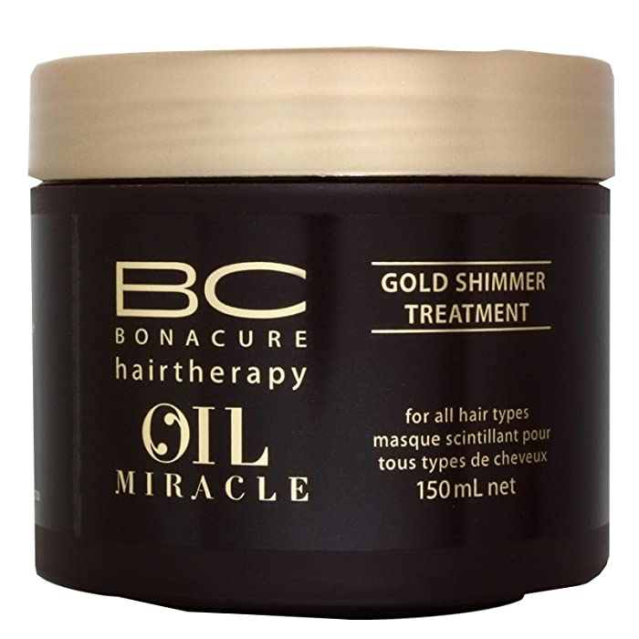 BC Bonacure OIL MIRACLE Gold Shimmer Treatment, 5.1-Ounce