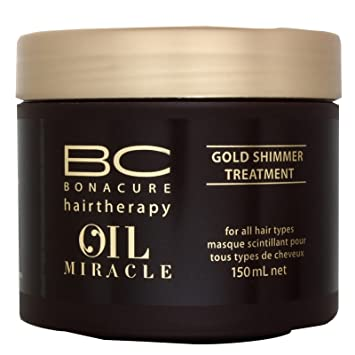 3f1fa05c2b Schwarzkopf BC Oil Miracle Gold Shimmer Treatment 150ml: Amazon.co ...