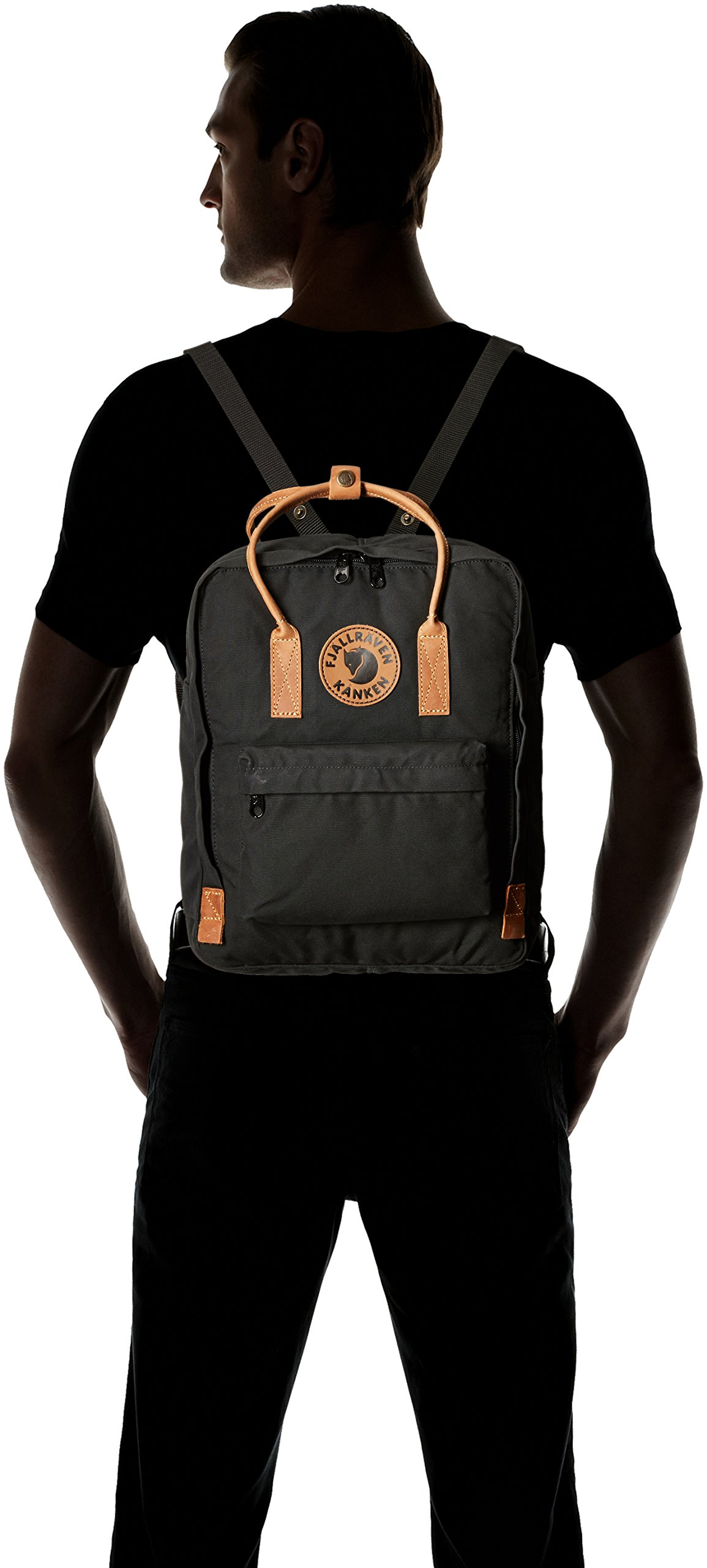 Fjallraven - Kanken No. 2, Heritage and Responsibility Since 1960, Black by Fjällräven (Image #5)