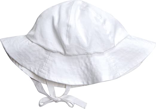Amazon.com  Under The Nile Poplin Sunhat  Infant And Toddler Hats ... 4736a24f3ec9