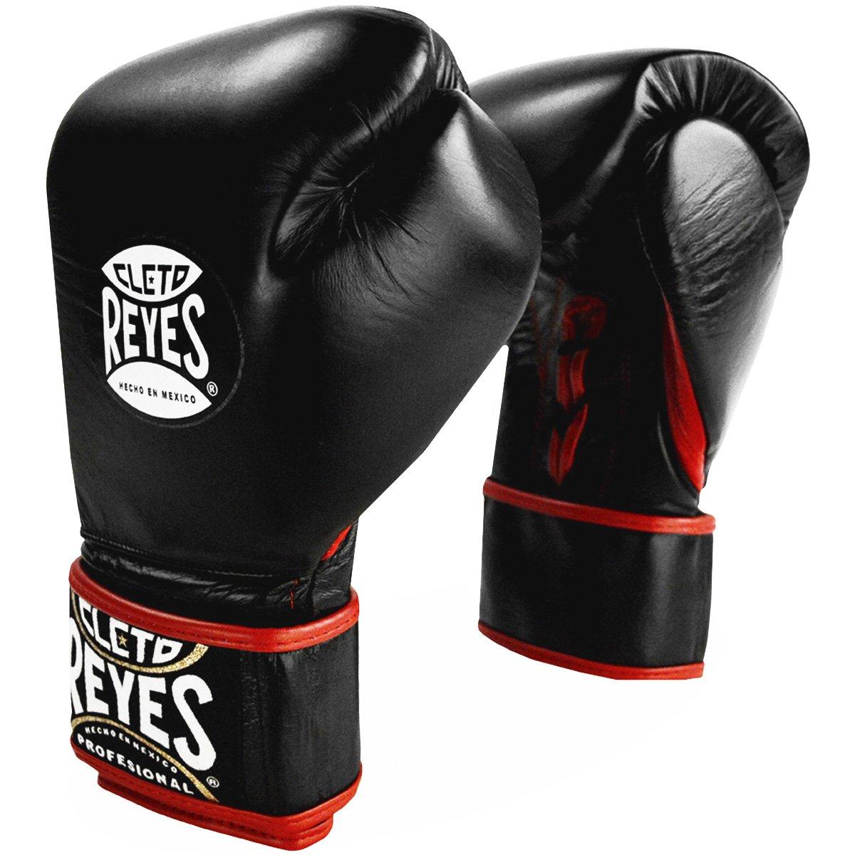 Cleto ReyesレースUpフックとループハイブリッドボクシンググローブ B00FE0BRZS X-Small|ブラック ブラック X-Small