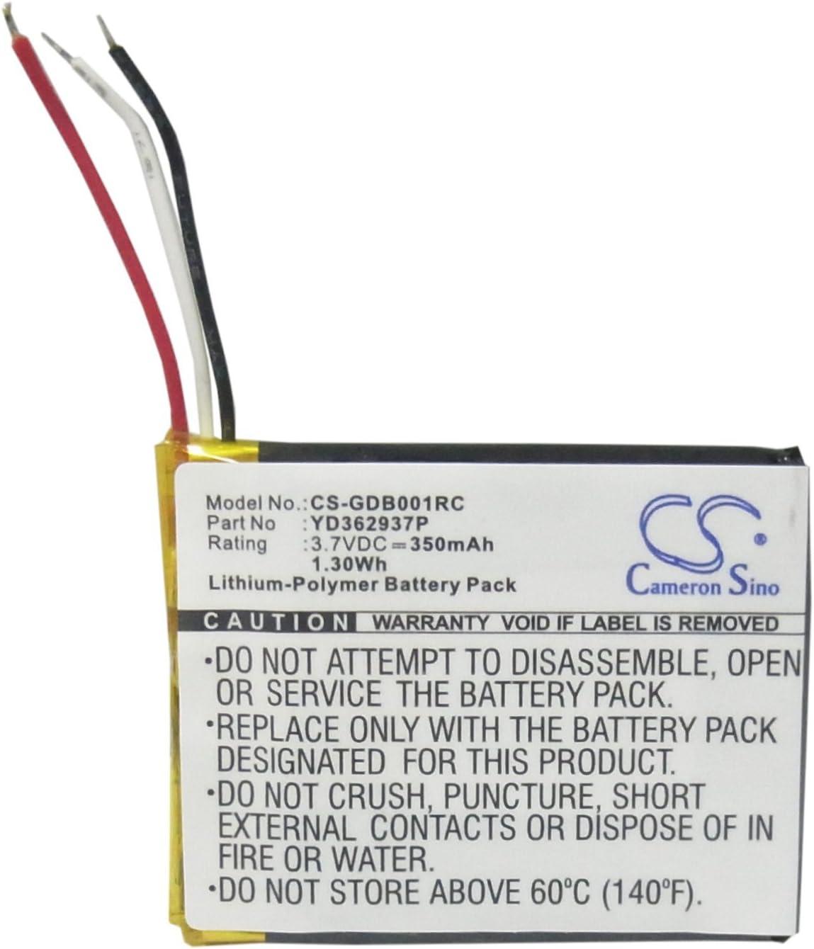 Batería 350mAh 3.7V Li-Polymer YD362937P GoPro Wi-Fi Remoto
