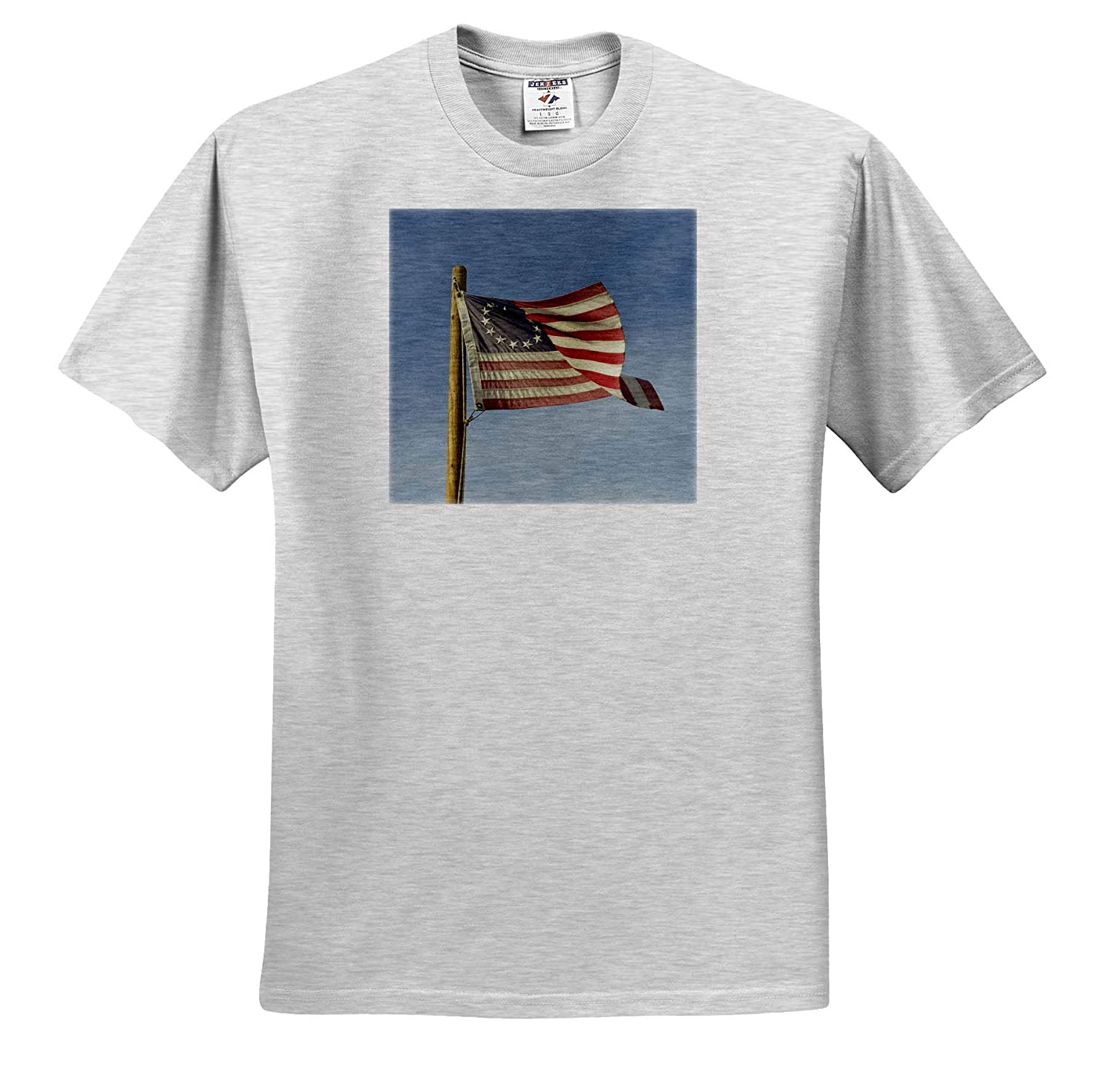 Flags Betsy Ross US Flag Flying in Breeze USA Arizona ts/_314568 3dRose Danita Delimont Adult T-Shirt XL