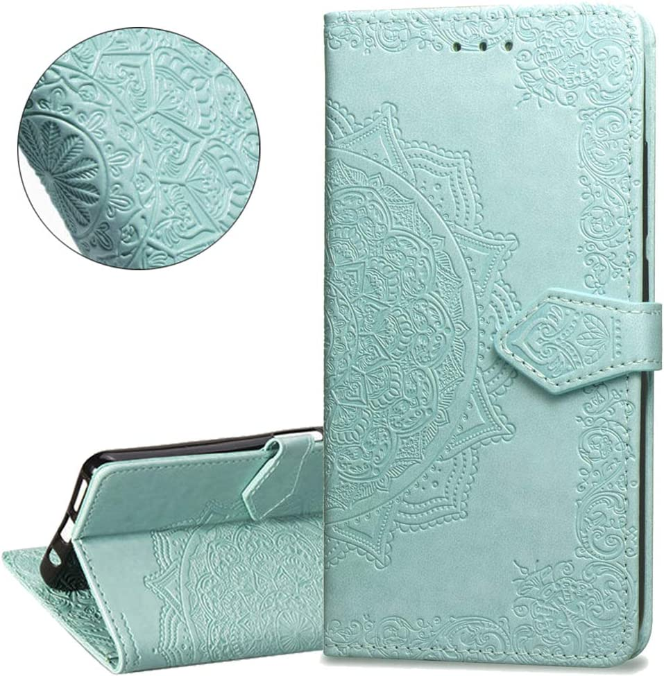 HMTECHUS Case for Samsung A10E Diamonds Butterfly Elegant PU Leather Flip Card Slot Wallet Kickstand Bookstyle Magnetic Buckle Cover Compatible with Samsung Galaxy A10E Big Diamonds Butterfly BF