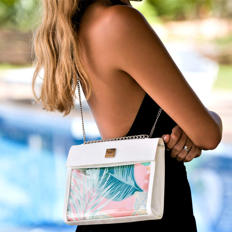 8b353817c316 Amazon.com: Unique Tropical Print Designer Shoulder Bag for Women ...