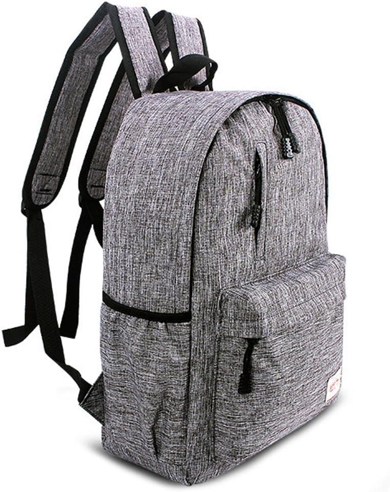 Datomarry Red Backpack 16 Inch Zipper Lightweight School Backpack for Teenagers