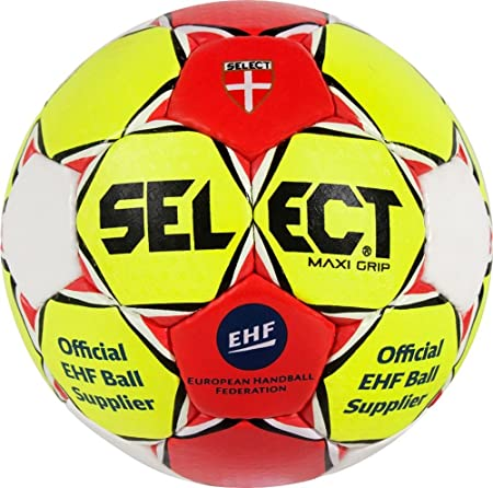 SELECT Maxi Grip Balón de Balonmano, Unisex Adulto