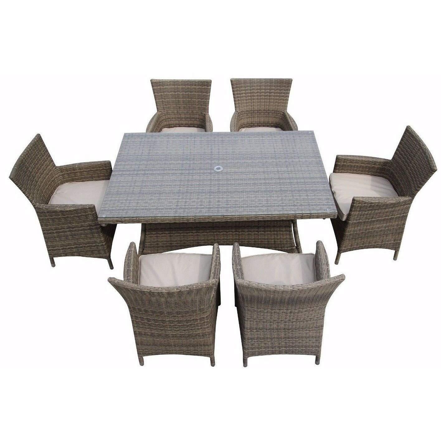 LYQZ Silla Sofá Terraza Restaurante Rota Muebles de Exterior Mesa ...