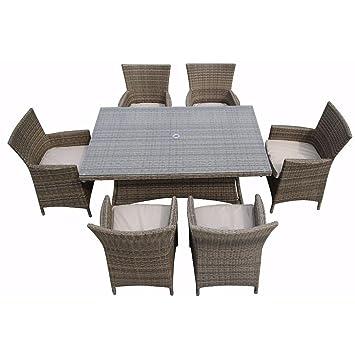 LYQZ Silla Sofá Terraza Restaurante Rota Muebles de Exterior ...
