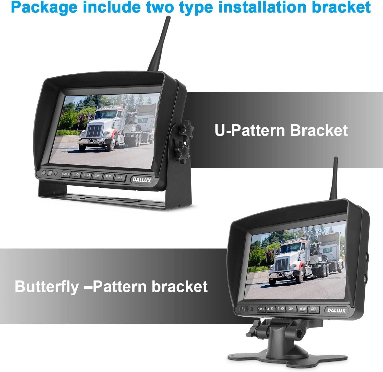Wireless Rückfahrkamera Kit Mit 7 Zoll Dvr Monitor Für Elektronik