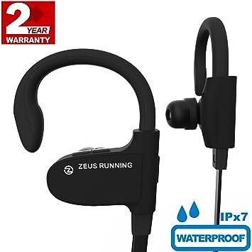 ZEUS - Auriculares inalámbricos Bluetooth mejorados 2018: Amazon.es: Electrónica