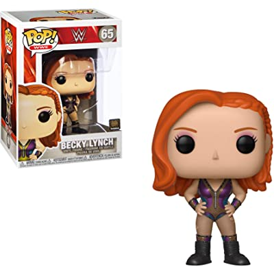 Funko Becky Lynch Pop WWE Vinyl Figure & 1 Compatible Graphic Protector Bundle (41941 - B): Toys & Games