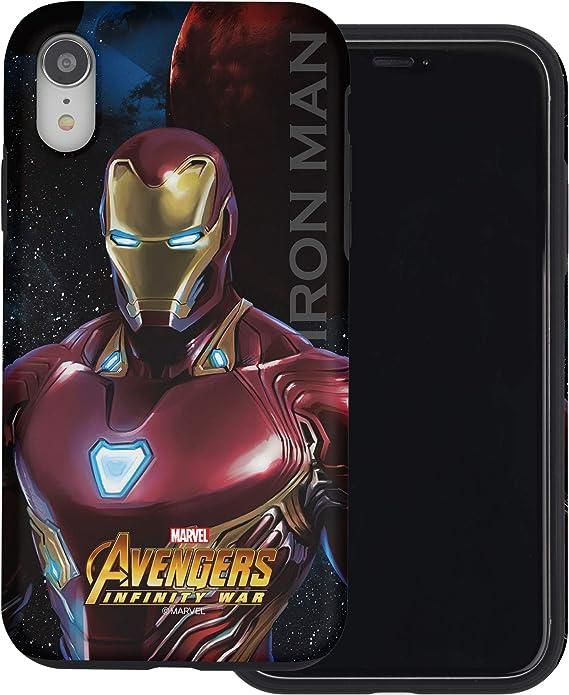 Red, Rojo Iron Man TinPlanet Marvel Avengers Funda para iPhone 11 Pro MAX