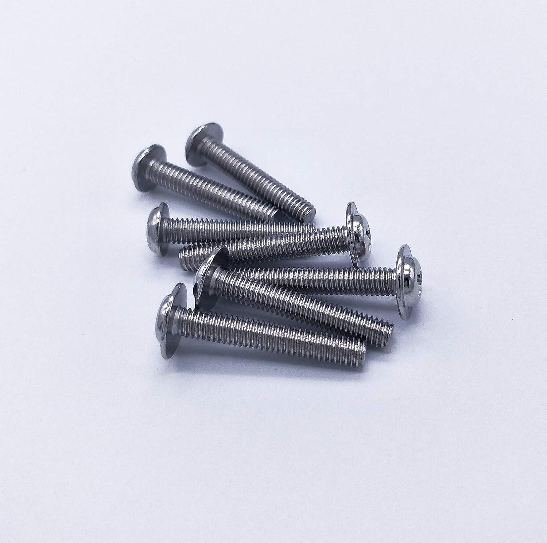 M4X22mm 60piezas, M4x25mm 50piezas 110 piezas Qrity M4 Tornillos de la manija Tornillo de la m/áquina para muebles Caj/ón Gabinete Perilla Manija Cocina Ba/ño