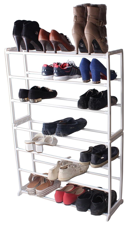 Vinsani 7étages à Chaussures étagère à Chaussures de Rangement Organisateur Support de Maintien pour 21Paires