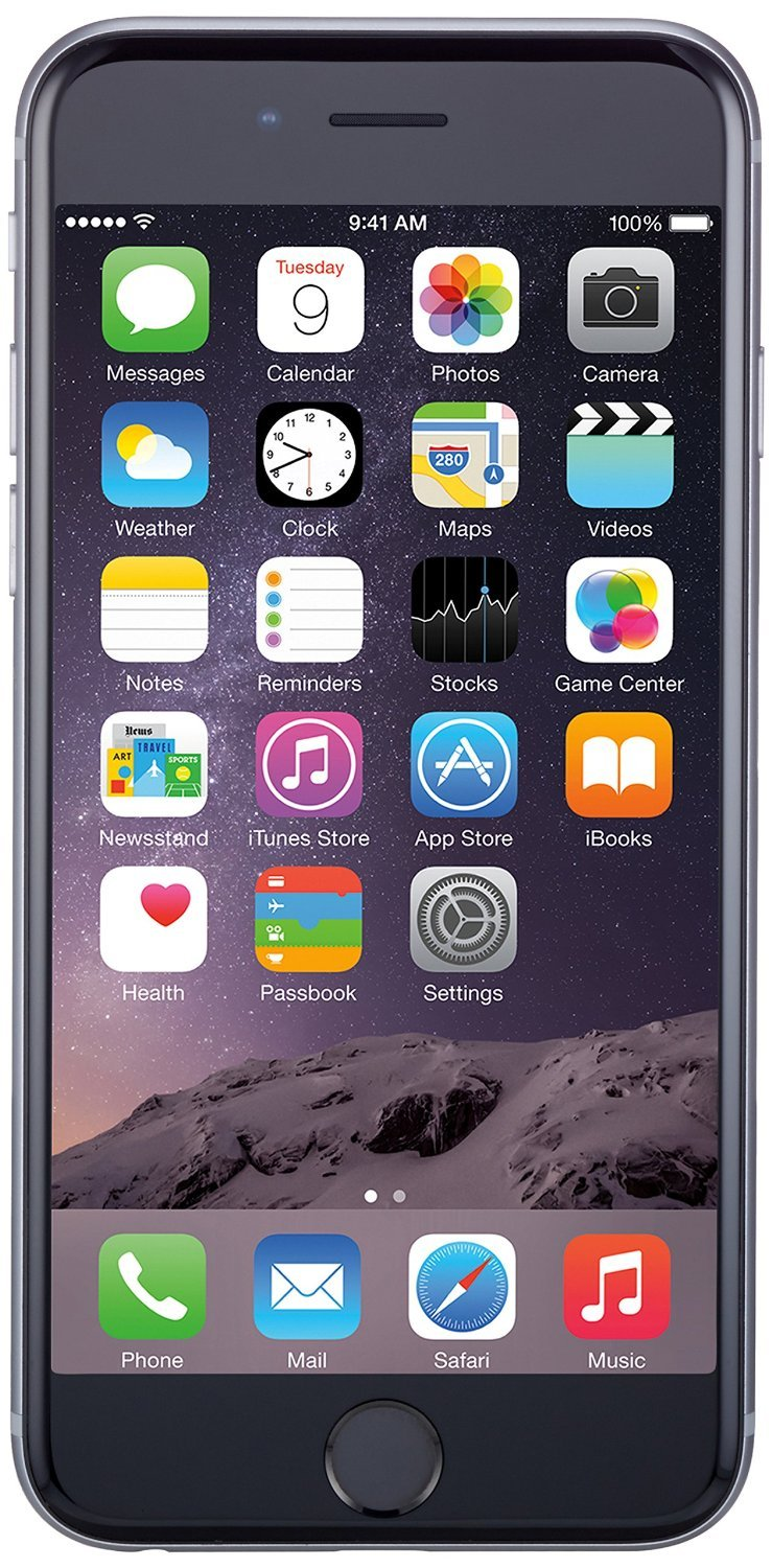 Apple iPhone 6 Plus, GSM Unlocked, 128GB - Space Gray (Certified Refurbished)