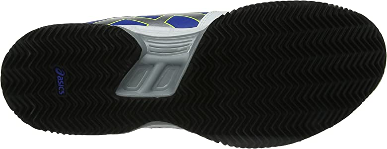 ASICS Gel-Game 5 Clay, Zapatillas de Deporte Exterior para Hombre, Azul (Blue/Silver/Flash Yellow 4293), 47 EU: Amazon.es: Zapatos y complementos