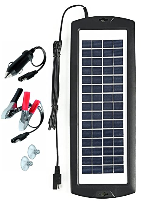 How to make a solar panel car battery charger