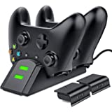 Amazon.com: ESYWEN Xbox One Controller Charger 2 x 800mAh ...