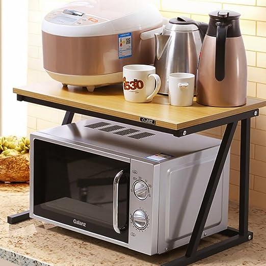 Estantería de cocina para microondas, estante de ...