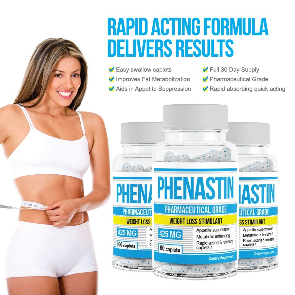 Phenastin - Diet Pills Extra Strength Weight Loss Aid Formulated for Men and Women by Phenastin (Image #6)
