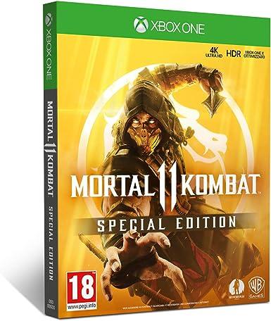 Mortal Kombat 11 Special Edition - Xbox One [Importación italiana]: Amazon.es: Videojuegos