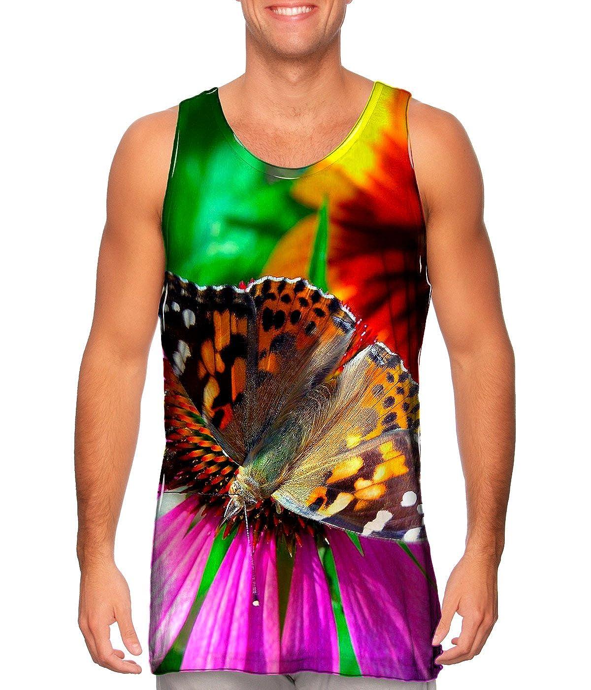 AnimalShirtsUSA TShirt Bubble Butterfly Mens Tank Top