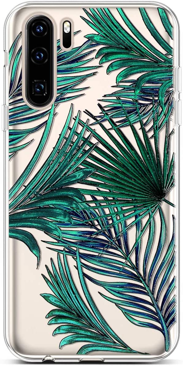 PHEZEN Huawei P30 Lite Case,Slim Shockproof Cute Amusing Whimsical Design Crystal Clear TPU Case Ultra Thin Soft Silicone Rubber Cover Bumper Phone Case for Huawei P30 Lite,Black Cat