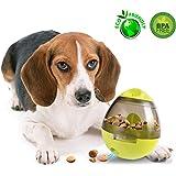 Hyboy Treat Dispensing Dog Toys Dog Toy IQ Treat Ball Dog Treat Dispensing Ball Pet IQ Treat Ball Dog Toy Ball Pet Food Ball Interactive Treat Kibble Dispensing Dog Food Activity Treat Ball