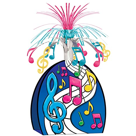 Pleasant Musical Notes Centerpiece Multi Color Party Accessory 1 Count 1 Pkg Best Image Libraries Weasiibadanjobscom