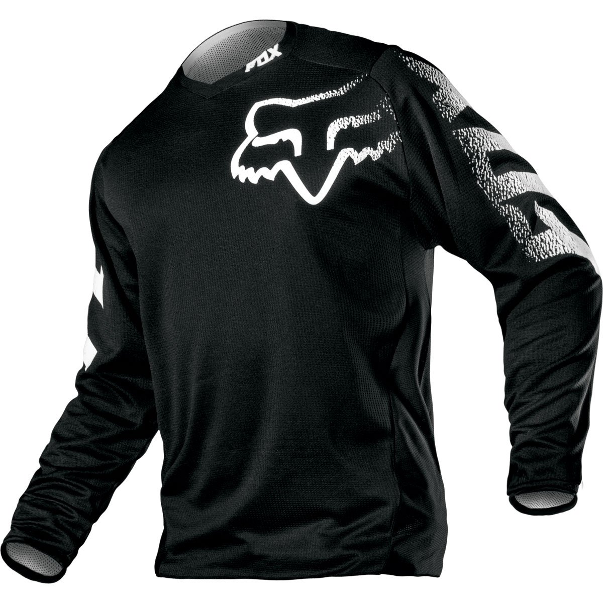 Fox Racing Blackout Motocross Offroad Jersey- X'Large