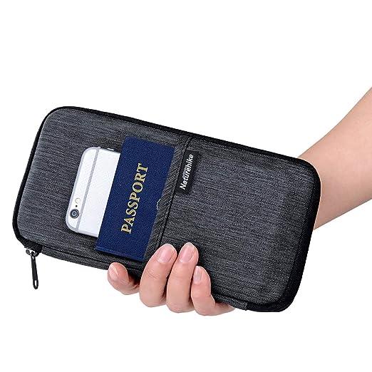 09d019a28958 Naturehike Travel RFID Blocking Wallet Document Organizer for Men and  Women, Family Passport Holder