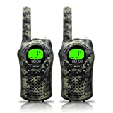 Amazon Price History for:Kids Walkie Talkies, UOKOO Two-Way Radios 22 Channels and Back-lit LCD Screen (up to 6KM in open areas) Walkie Talkies for Kids (1 Pair) Camo T668